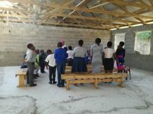 Young people in Ebenezer church